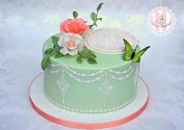 Pretty Cake for Douha