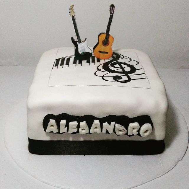 Torta Guitarras