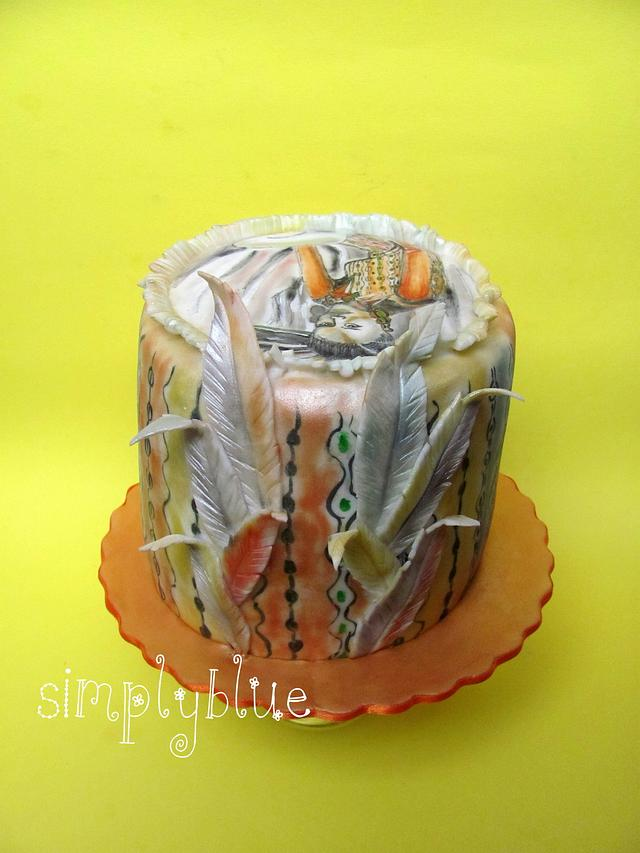 Ethno cake