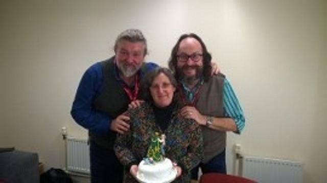 The Hairy Bikers Christmas cake
