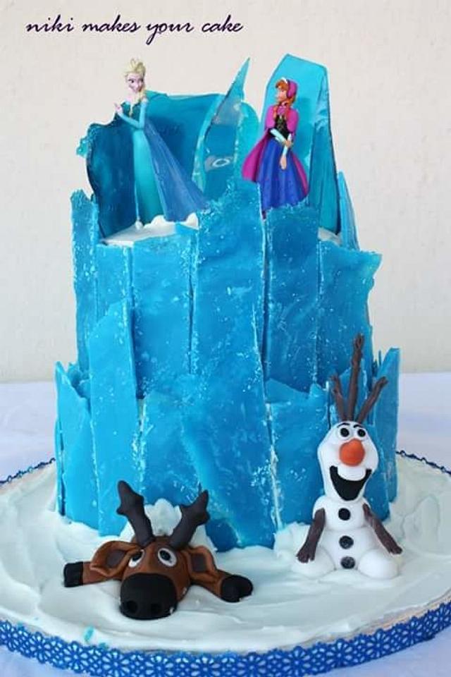 Theofania's frozen cake