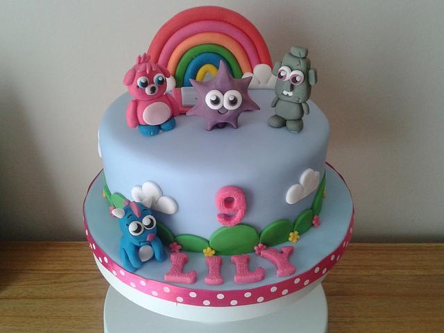 Moshi monster birthday cake