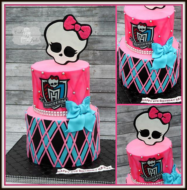 Miraculous Monster High Birthday Cake Cake By Cakes By Julie Cakesdecor Funny Birthday Cards Online Inifofree Goldxyz