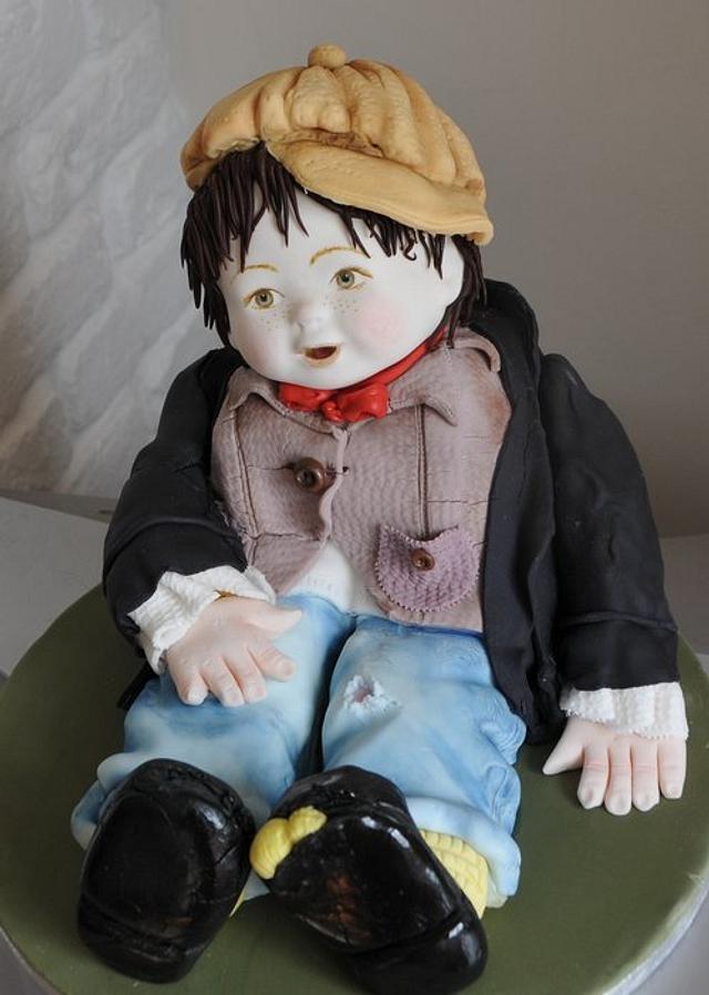 Oliver - Boy Doll Cake