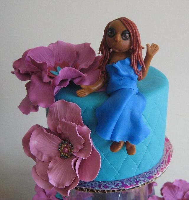 57 & fabulous cake