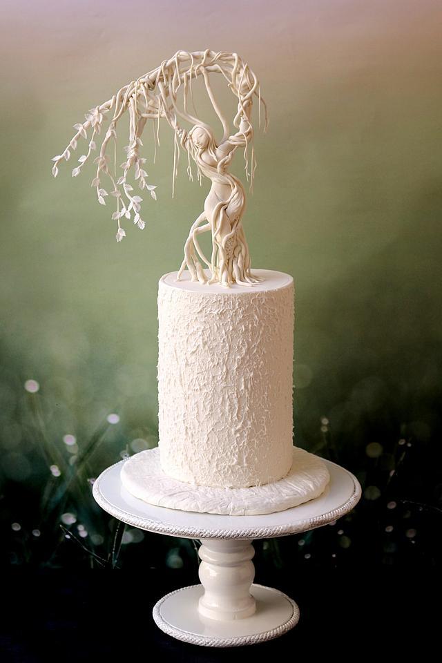 Bernini's Apollo and Daphne inspired cake