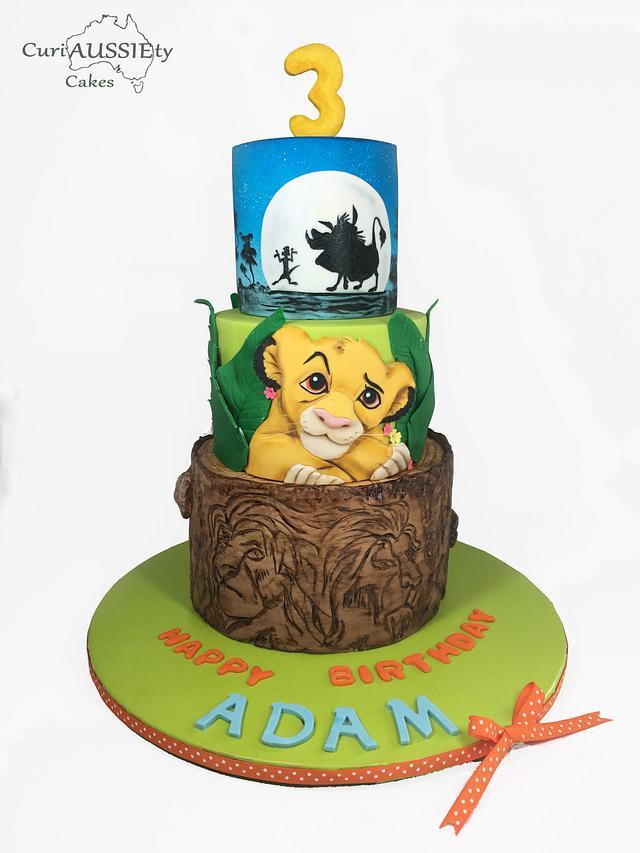 Icing Smiles - Lion King cake