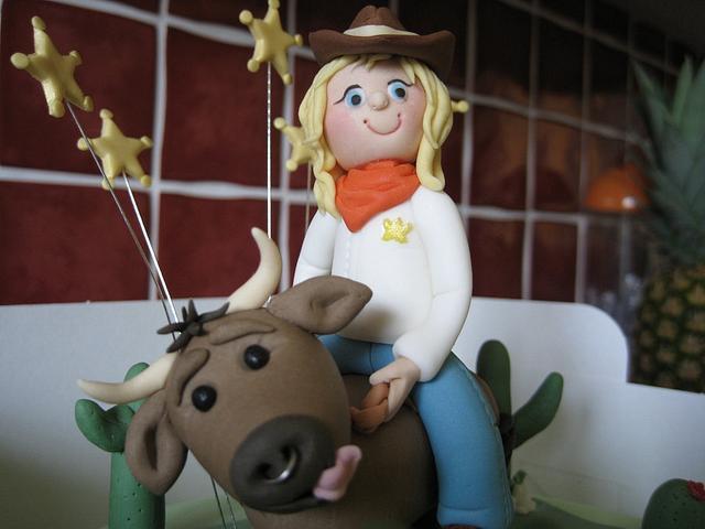Rodeo Birthday Cake
