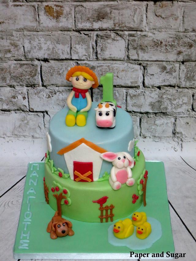 Little Farmer Cake