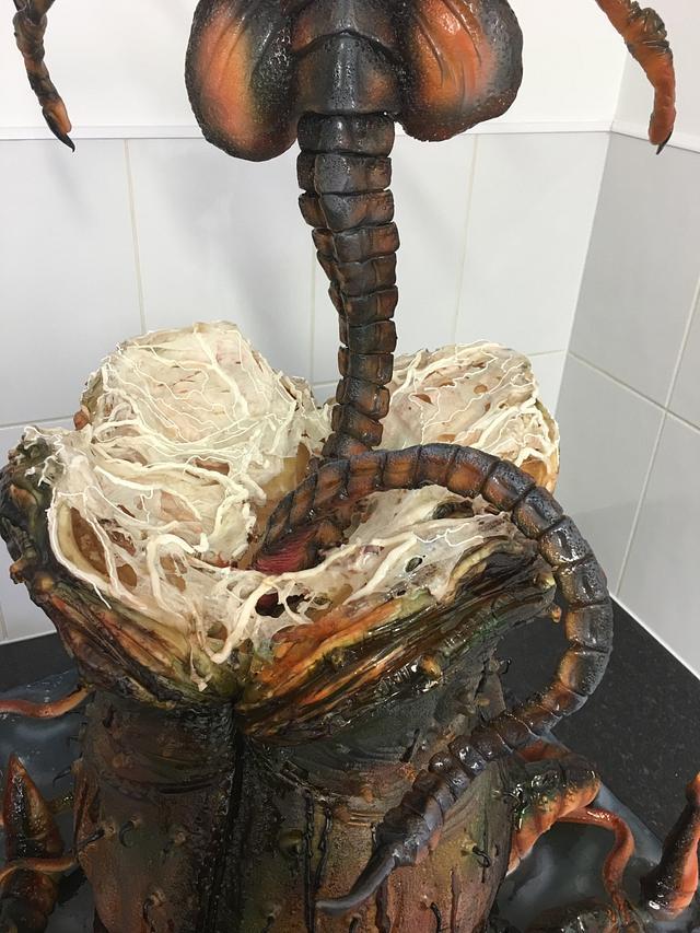 Alien Facehugger Cake International
