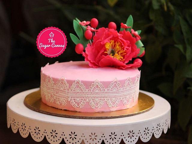 Floral blush