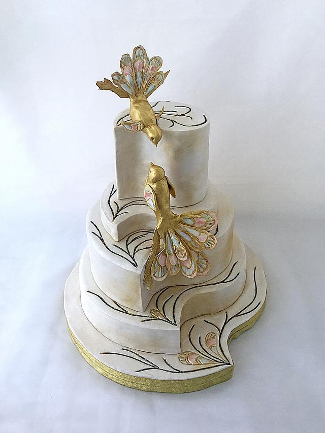 Guo Pei inspired cake