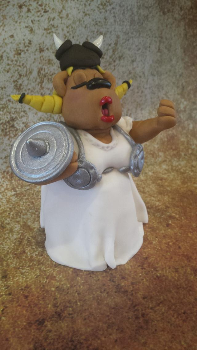 It's all over when the fat lady viking teddy sings