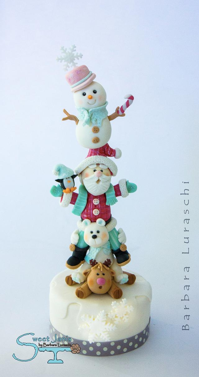 Advent Calendar Collaboration - Christmas totem