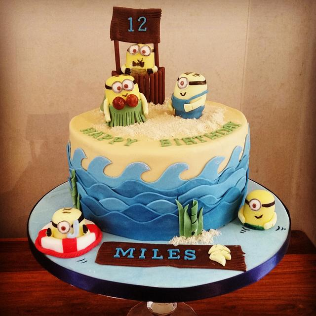 A beach Party for the Minions