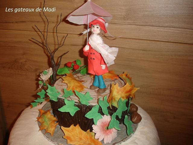 Gâteau d'automne
