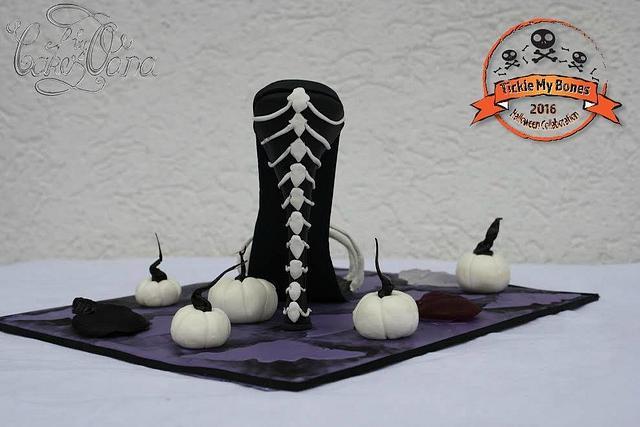 Bones Sugar High Heel Tickle my Bones Colaboration
