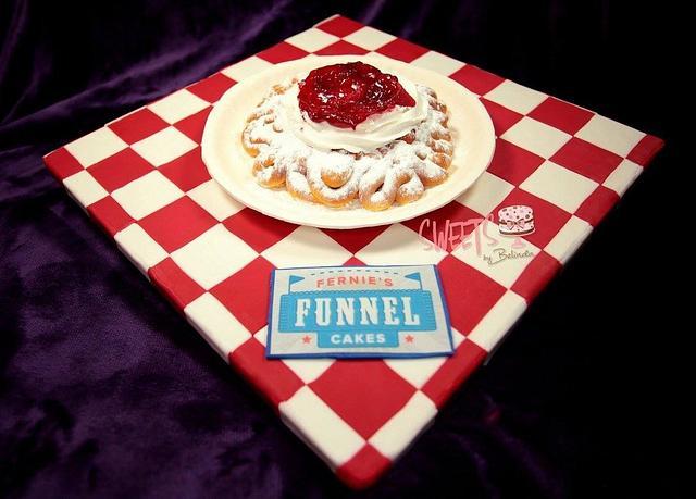 Fernie's funnel cake