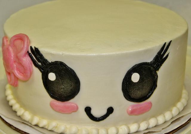 Marshmallow cake design