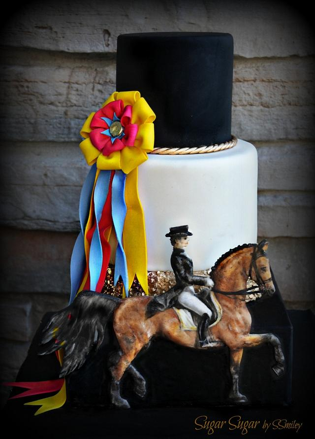 """""""Dressage"""" - Sport Cakes for Peace Collaboration"""
