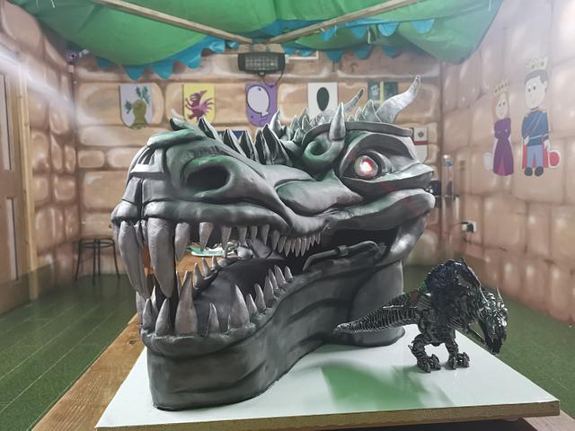 Grimlock (transformers) cake