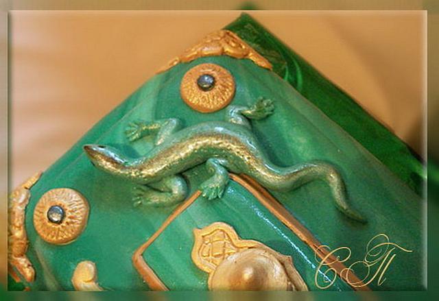 "Cake ""The Malachite Casket"""