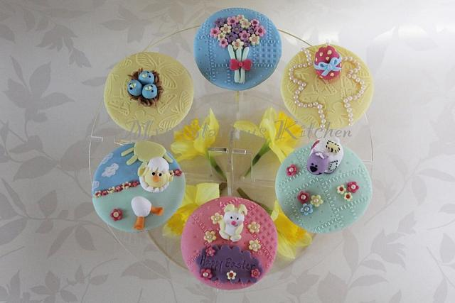 Easter/springtime cupcakes