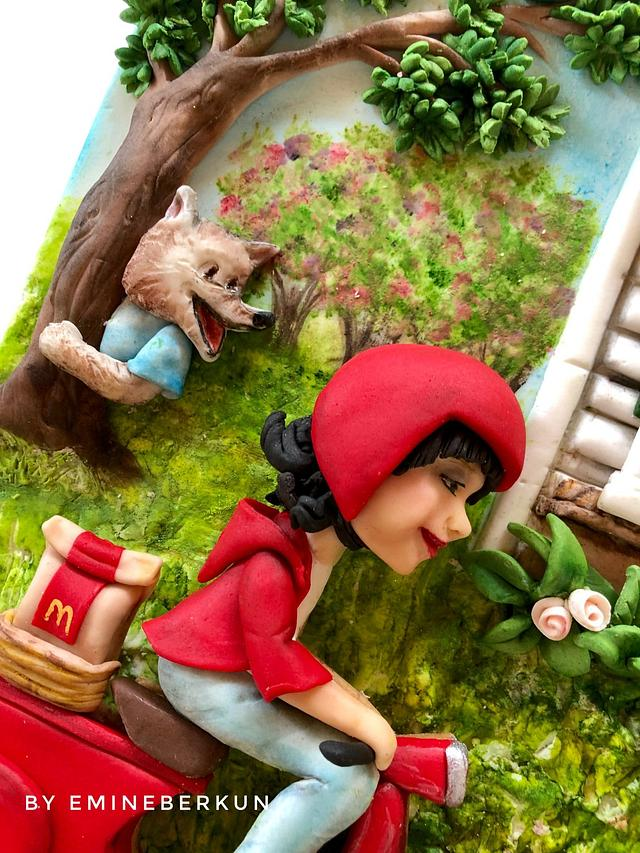 Once upon today/ Little Red Riding Hood and her grandmother