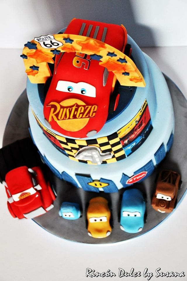 Cars cake / tarta cars