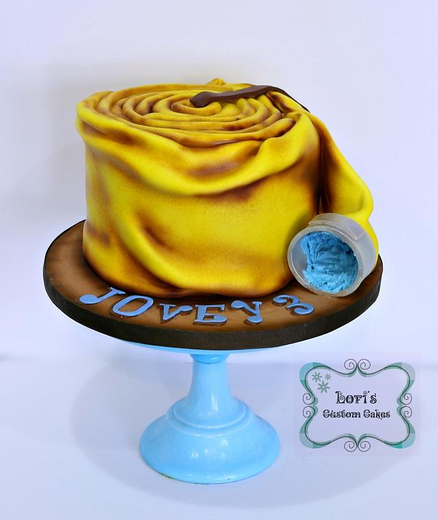 Firehose Birthday Cake
