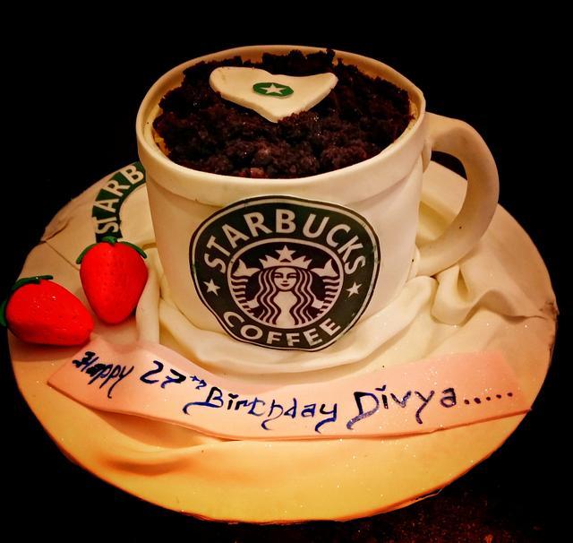 Starbucks coffee cake