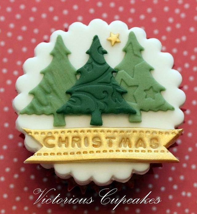 Christmas Cucpakes