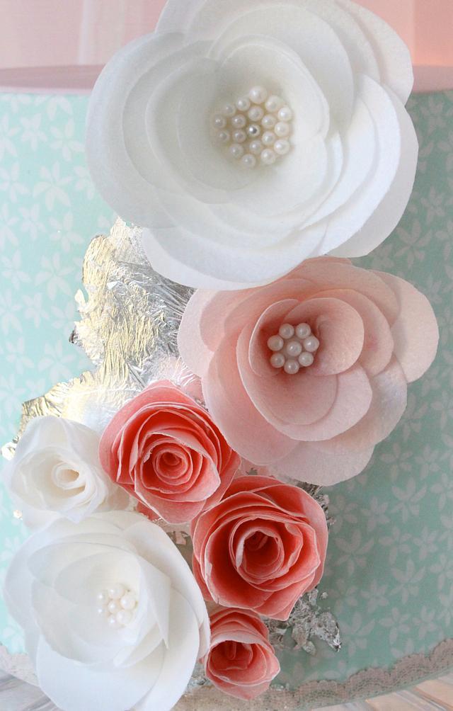 30th Birthday Cake - Vintage