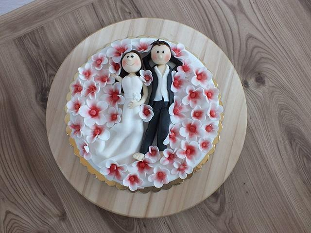 cake for wedding anniversary