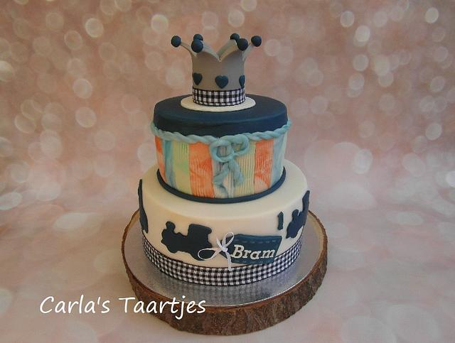 Outstanding Little Boy Birthday Cake Cake By Carla Cakesdecor Funny Birthday Cards Online Inifofree Goldxyz