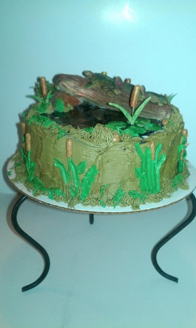 Amazing Turtle Birthday Cake Cake By Nonniecakes Cakesdecor Funny Birthday Cards Online Inifofree Goldxyz