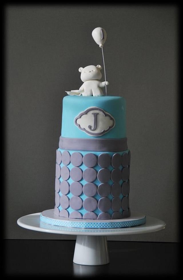 Bear w/ Balloon cake