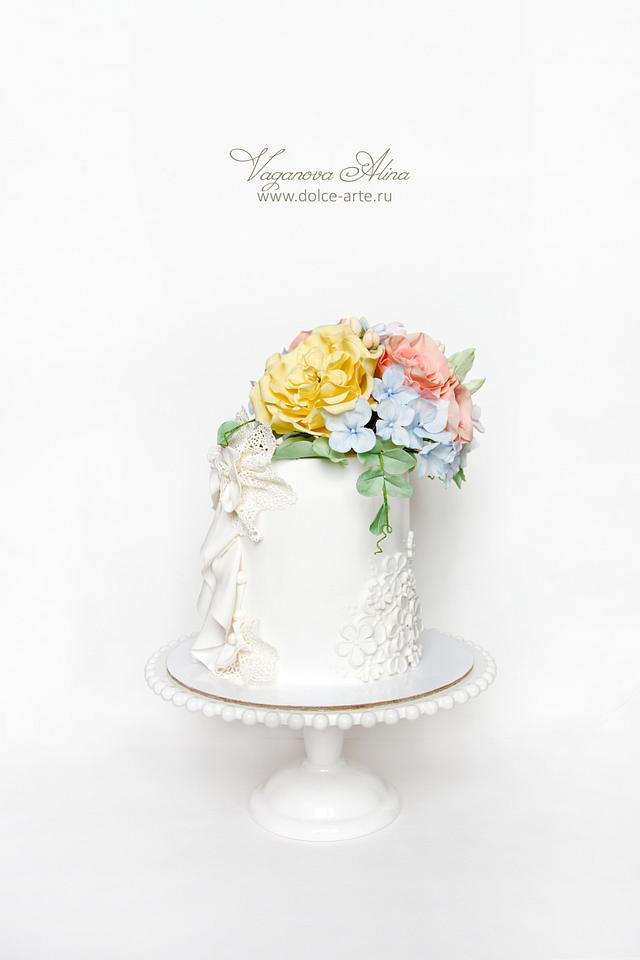 almost wedding cake