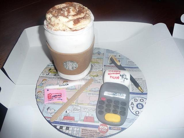 Starbucks for an accountant friend...