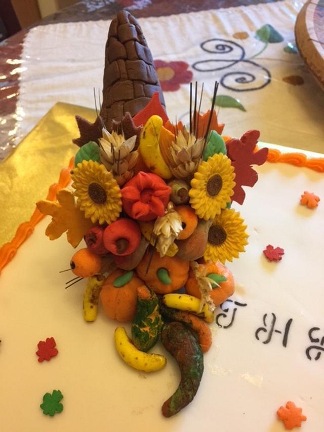Horn of Plenty for Thanksgiving