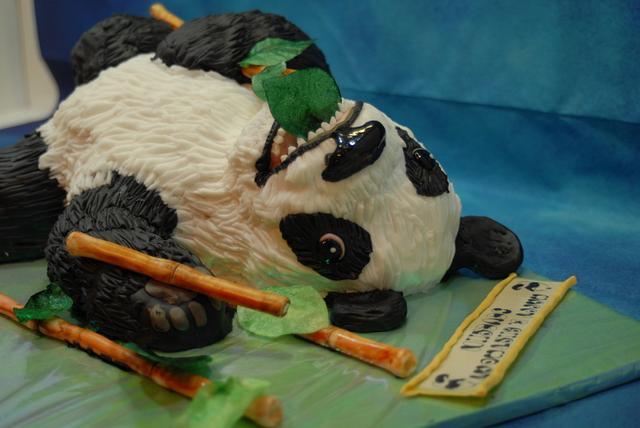 Panda-Birthdaycake