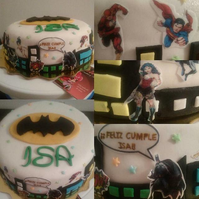 Torta Super Heroes