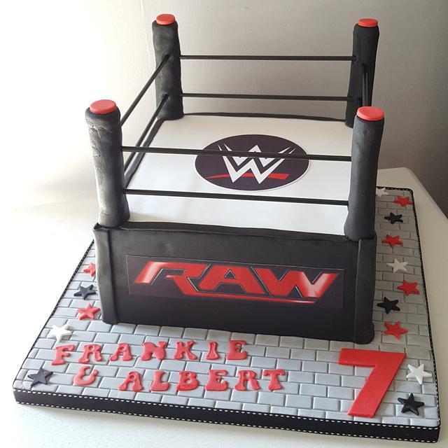 Prime Wwe Birthday Cake Cake By Klis Cakery Cakesdecor Funny Birthday Cards Online Inifodamsfinfo