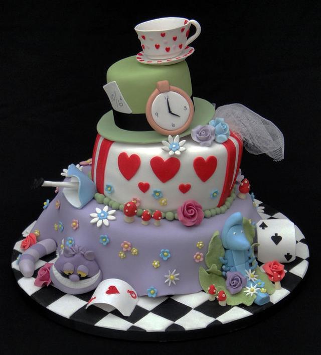 Madhatter Novelty Cake 2