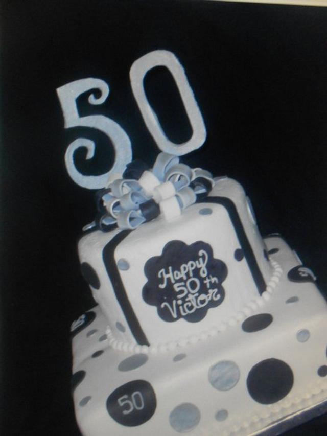 50 th. Birthday Cake
