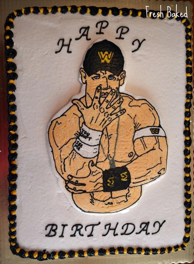 John Cena Cake