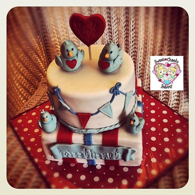 The 'Tweethearts Cake