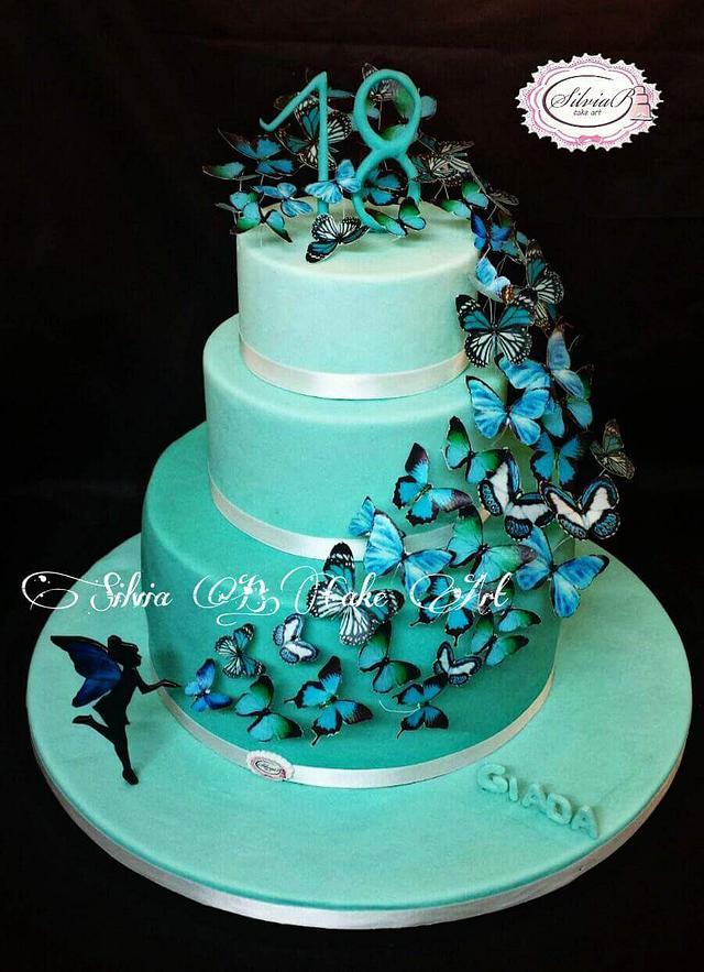 Tiffany butterflies