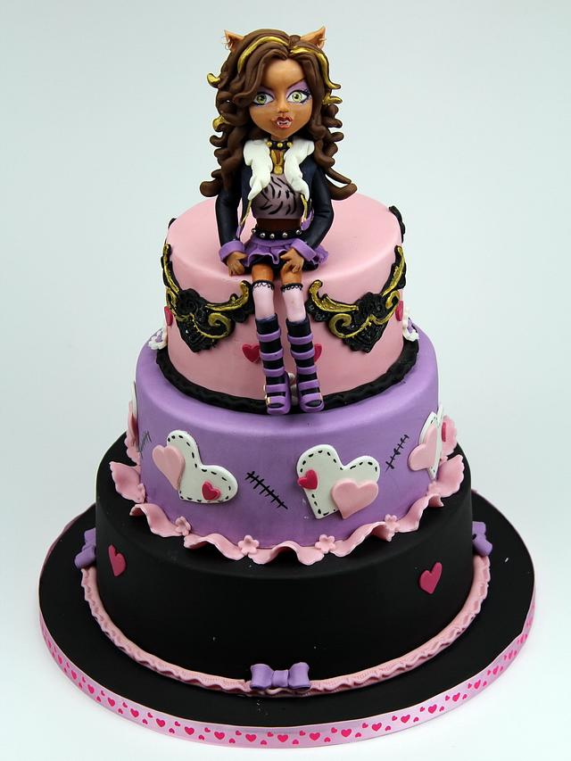 Awe Inspiring Monster High Birthday Cake Cake By Beatrice Maria Cakesdecor Funny Birthday Cards Online Inifofree Goldxyz