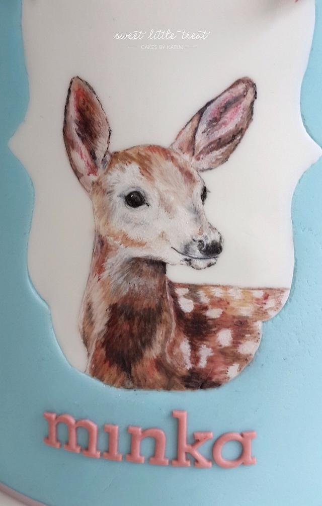 Hand painted Baby doe